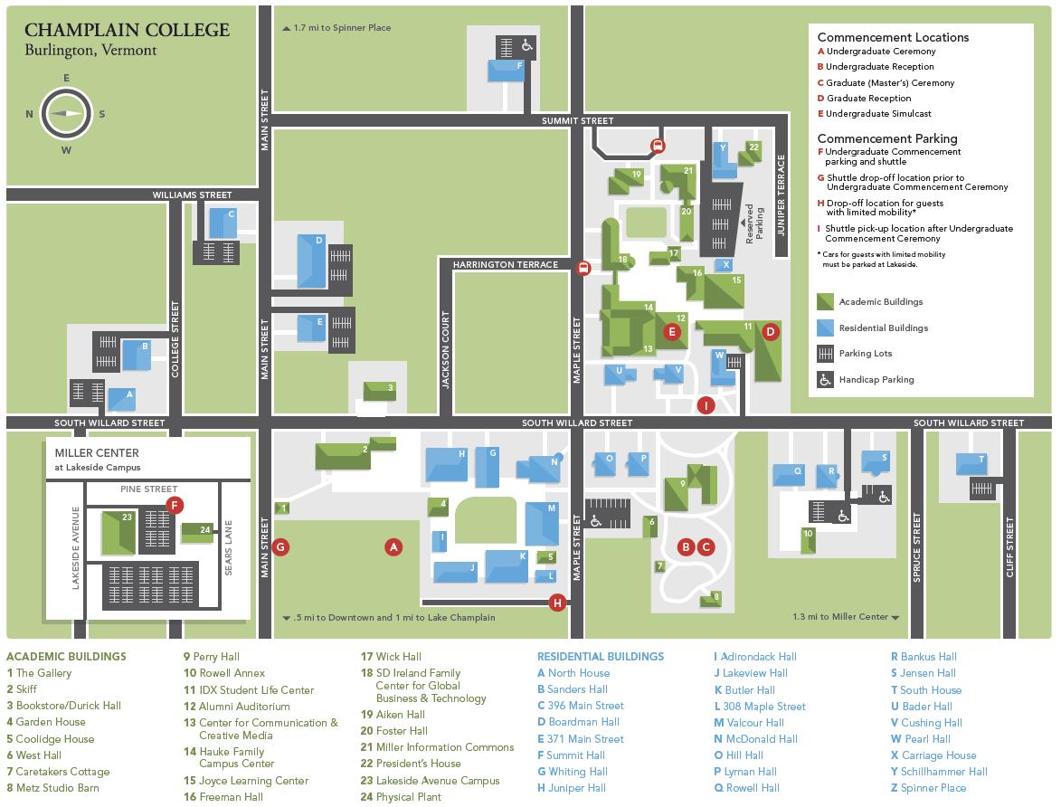 wheaton college campus map pdf