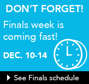 Finals Week Reminder