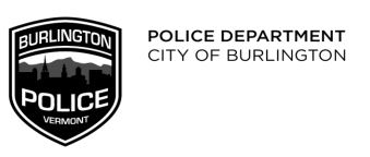 Police Department City of Burlington