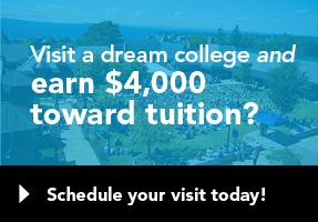 Visit Champlain College and get $4000 towards tuition