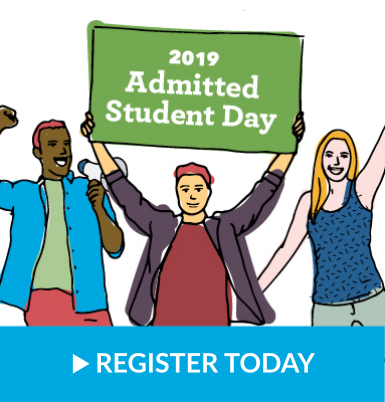 Admitted Student Day Registration Image