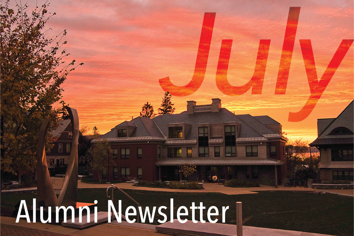 July Alumni News