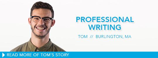professional writing major undergraduate degree
