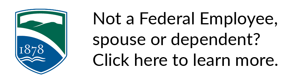Not a federal employee, click here