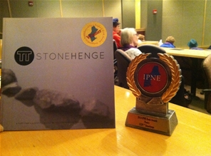 CCPI's anthology Stonehenge won an award at the Independent Publishers of New England Conference in April 2014.