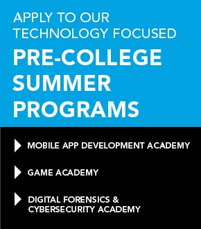 Apply to our Technology Focused Pre-College Summer Programs