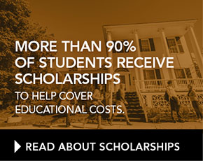 More than 85% of student receive scholarships to help cover educational costs.
