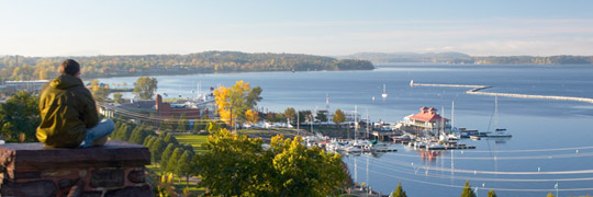Burlington Vermont Waterfront