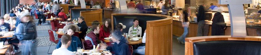 campus life student resources dining