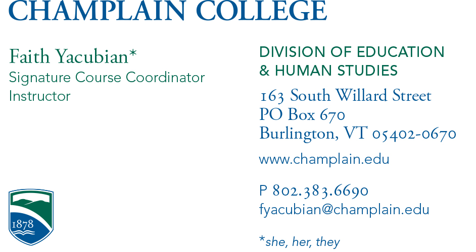 college students business cards