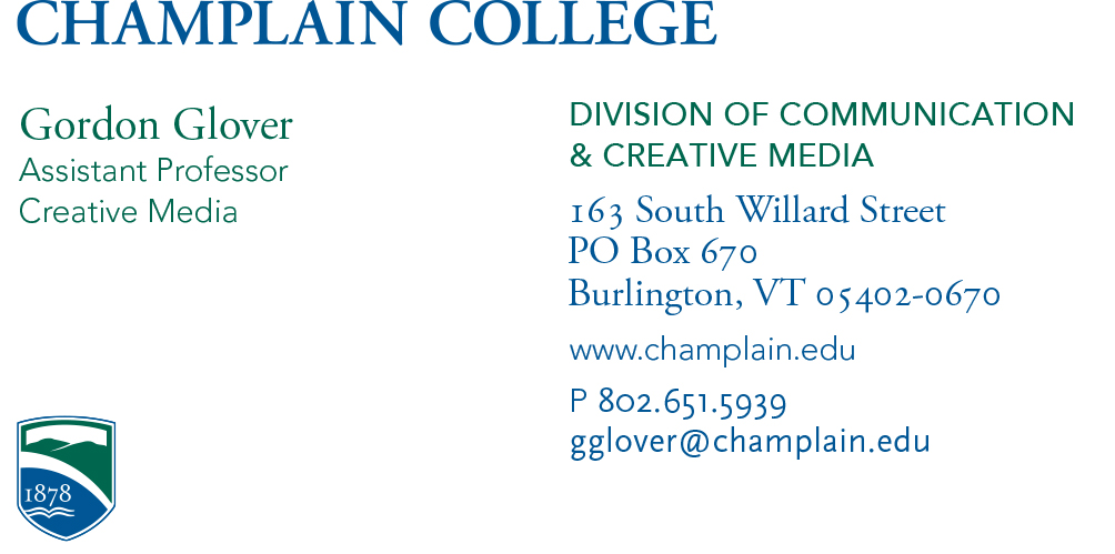 Business cards name tag samples marketing department champlain generic business card colourmoves