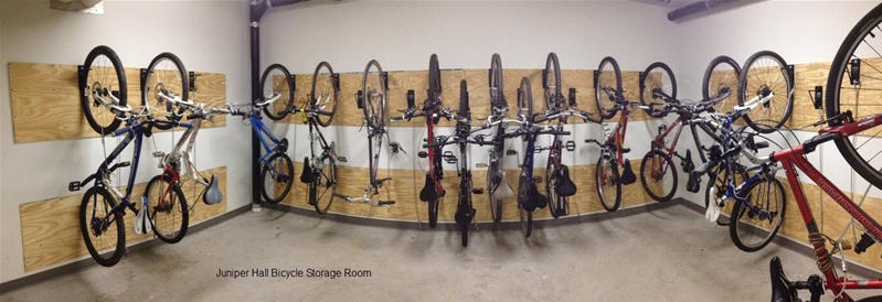 indoor bicycle storage bikes transportation parking