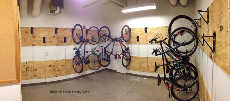 indoor bike storage ideas with bike storage rack and