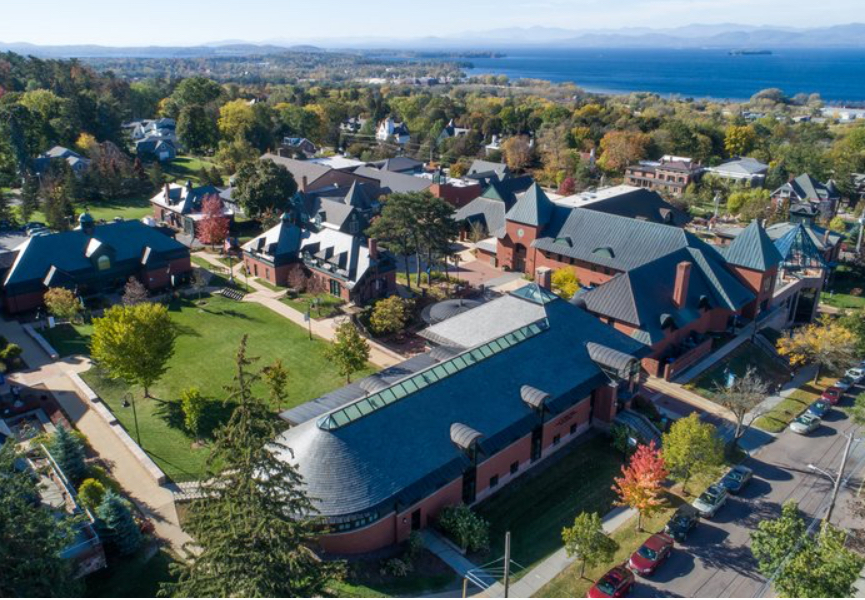 About Champlain College in Burlington, Vermont