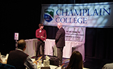 Champlain College elevator pitch competition