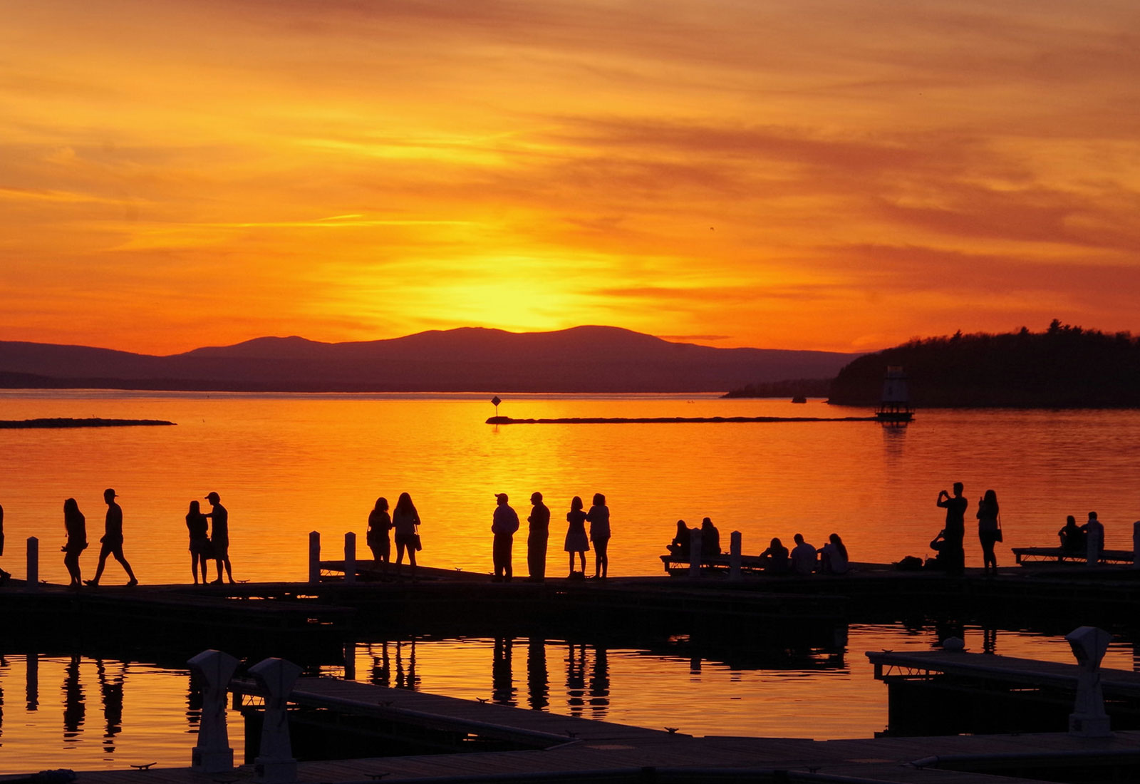 Champlain College is located in Burlington, Vermont--the best college town in America.