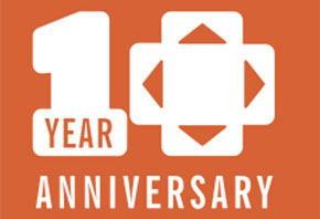 Game Studio 10th Anniversary Logo