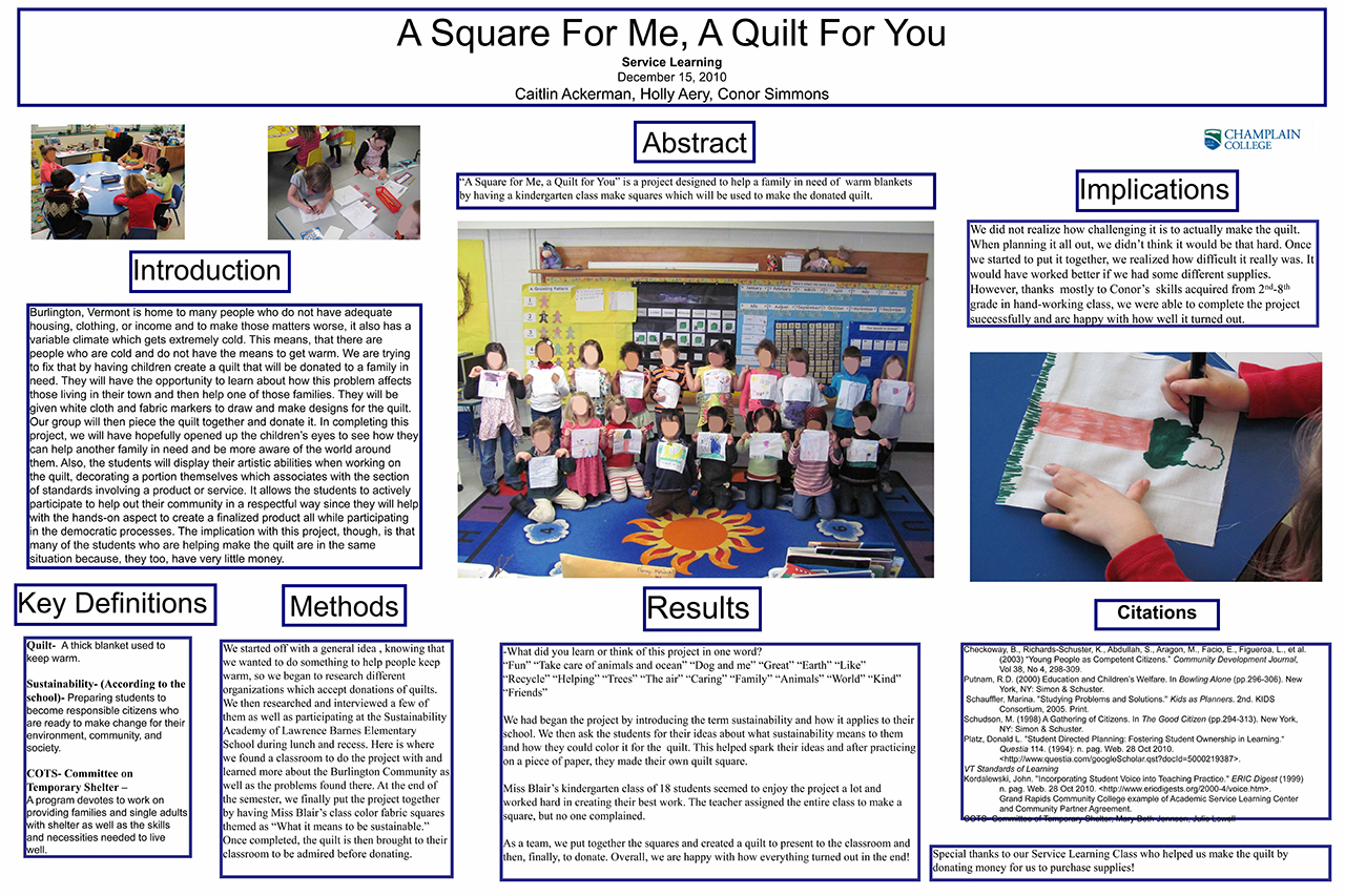 A Square for Me, A Quilt for You