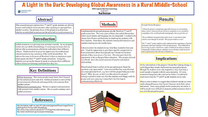 A Light in the Dark: Developing Global Awareness in a Rural Middle-School