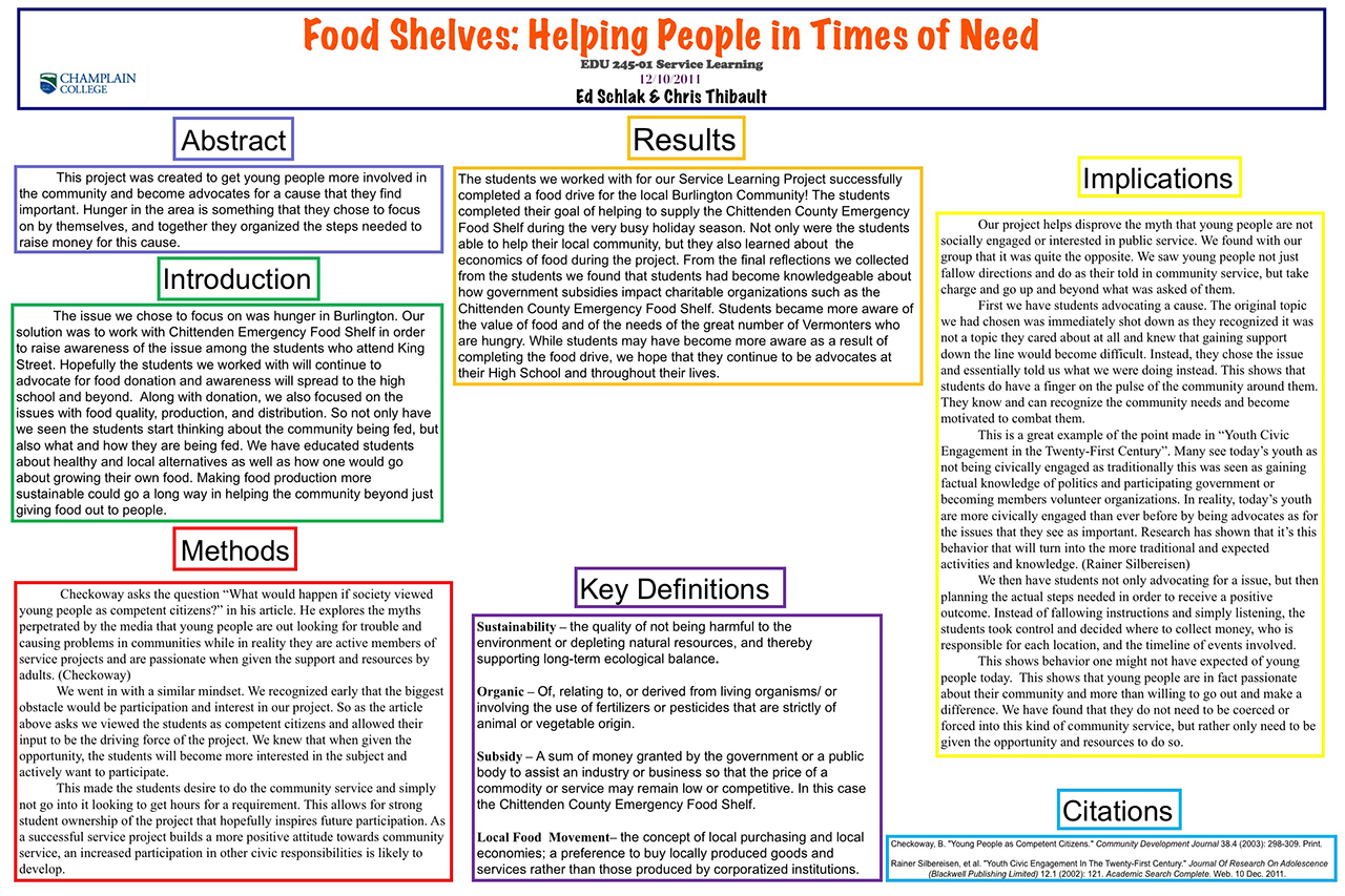 Food Shelves: Helping People in Times of Need