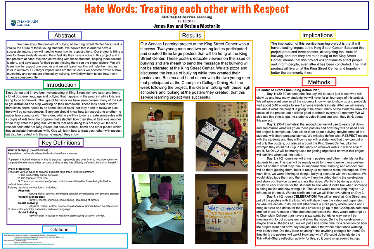 Hate Words: Treating each other with respect