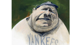 """Babe Ruth"" by Champlain College professor Bob Selby"
