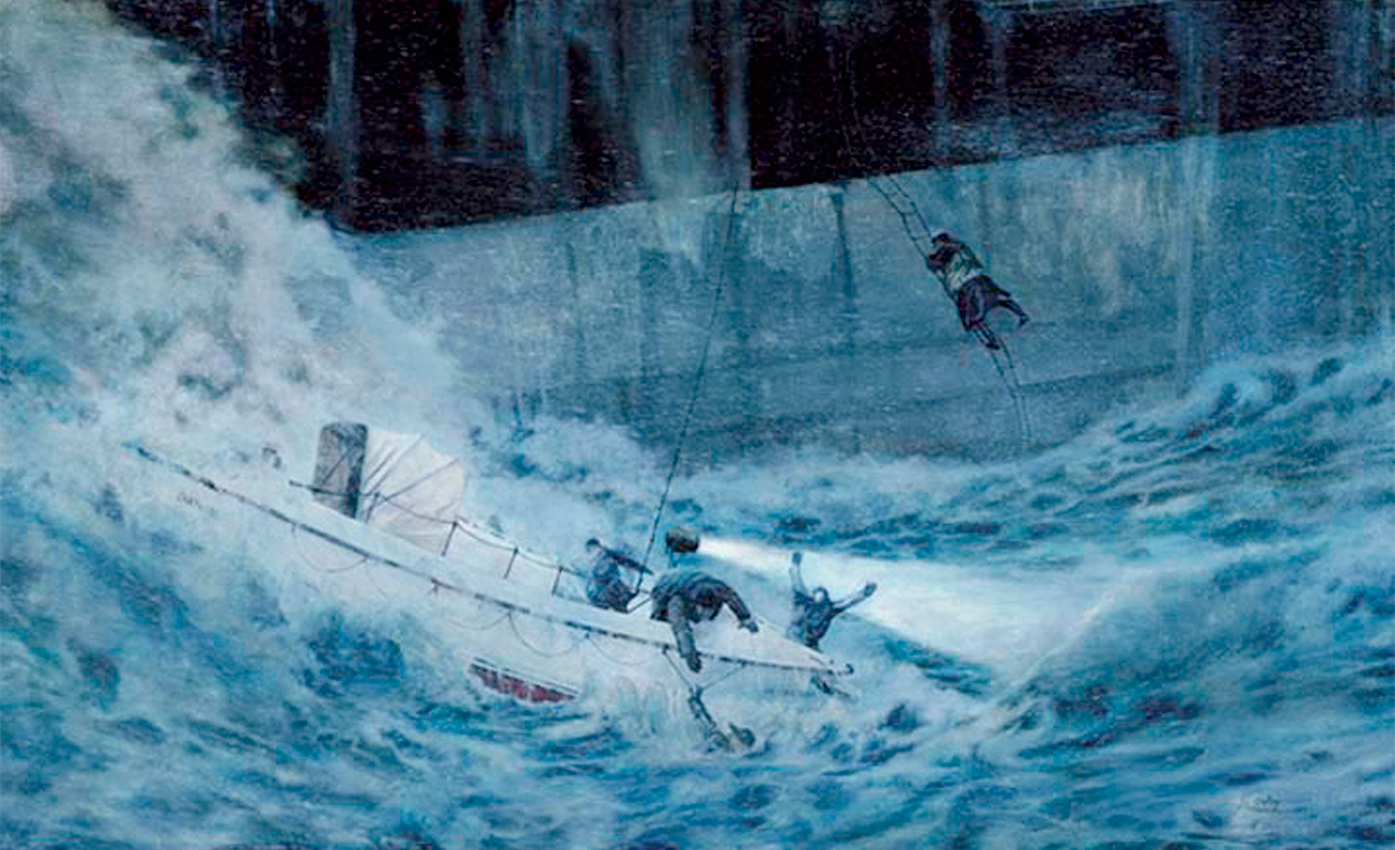 """The Wreck of the S.S. Pendleton"" by Champlain College professor Bob Selby"