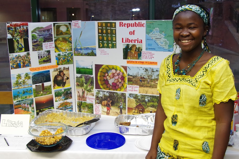 Champlain International Student, Lawuo, Liberia