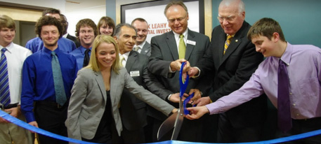 Opening of the Senator Patrick Leahy Center for Digital Investigation at Champlain College in 2012