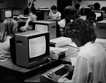 A tech savvy student in the early 1990s