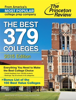 Princeton Review Best Colleges 2015