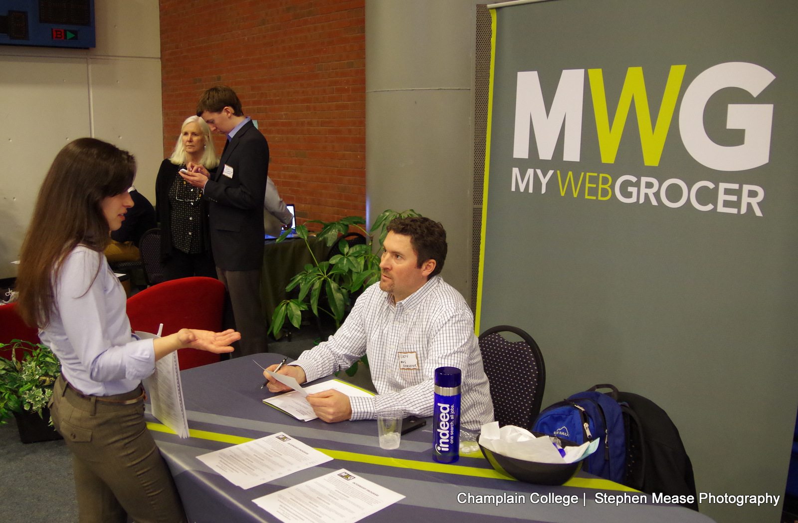 Job Fair with MWG