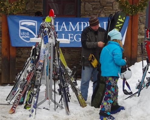 Sugarbush and Champlain College offer on-snow film camp.
