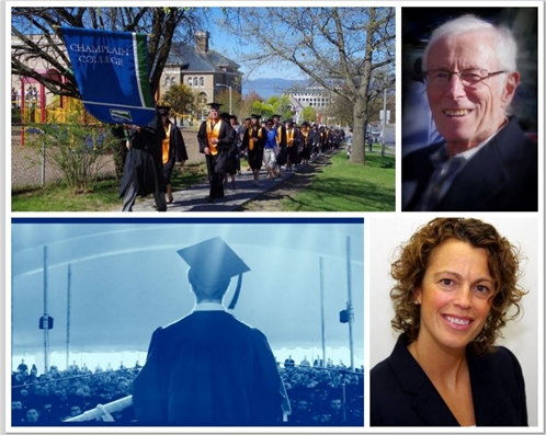 Champlain College commencement on May 9