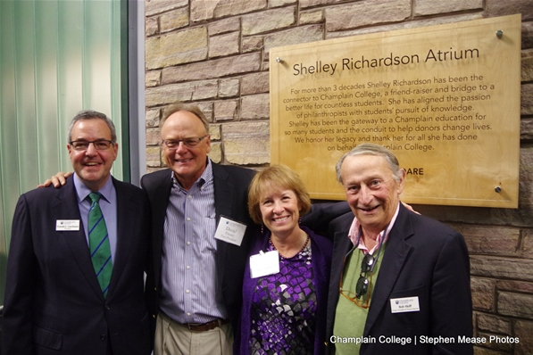 Champlain Presidents and Shelley Richardson