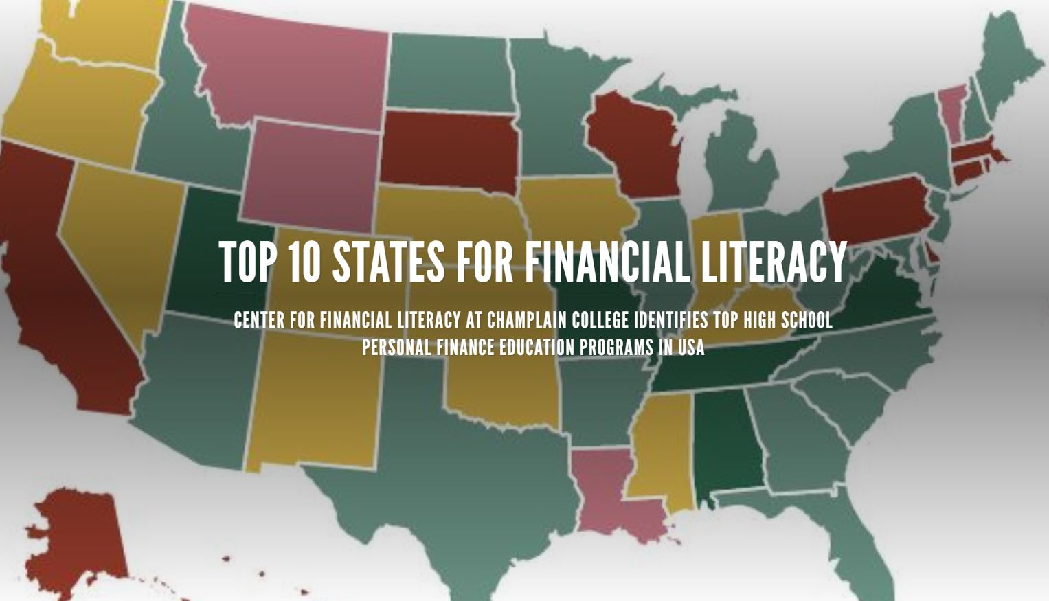 Champlain College Center For Financial Literacy Releases Top 10
