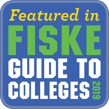 Featured in Fiske Guide to Colleges 2019