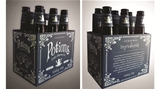 Potions, a mock craft brewery, designed by Champlain Graphic Design student, Ariana